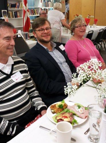 Danish Opera Singer, David Danholt, at NWDA Onsdagsklubben Luncheon
