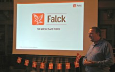 DACR 2016: Peter Jorna from Falck speaking about the Danish company's expansion to the U.S.