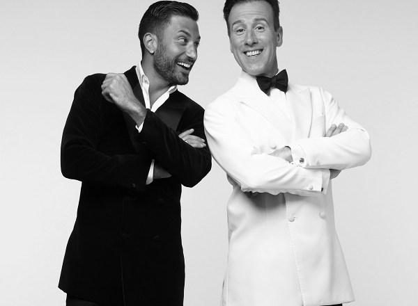 Anton Du Beke and Giovanni Pernice – Him & Me dance into Blackpool at start of their UK Tour