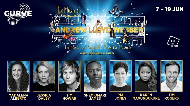 Full cast and production team announced for The Music of Andrew Lloyd Webber