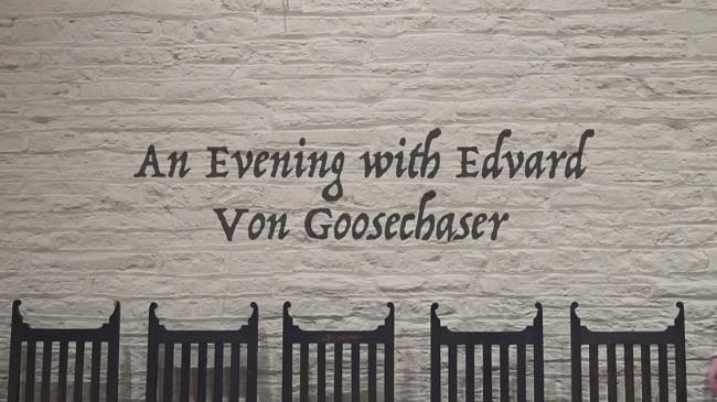 An Evening with Professor von Goosechaser – Brighton Fringe