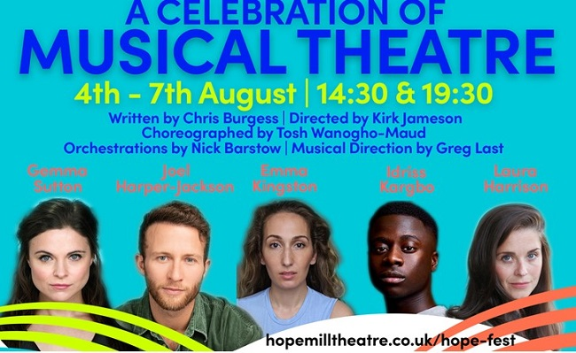Hope Mill Theatre presents A Celebration of Musical Theatre at Hope Fest