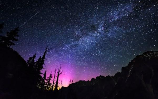 Northern Lights Aurora Borealis Washington