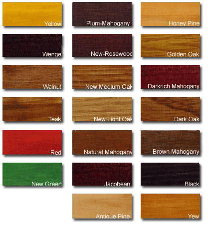 Timber Floor Stain Colour Chart Wikizie
