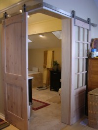 Guest Post -- Installing Barn Sliding Doors!