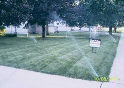 Lawn in Milford