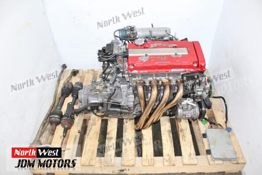 JDM 96 00 Honda Civic Type R EK9 B16B DOHC Vtec Engine 5