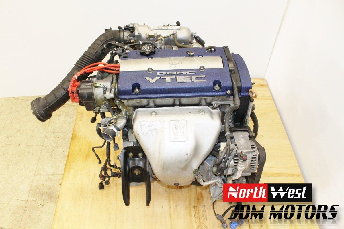hight resolution of jdm honda f20b vtec engine accord sir t prelude automatic version