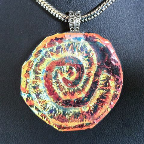Diane Moeglein Fused Glass Pendant
