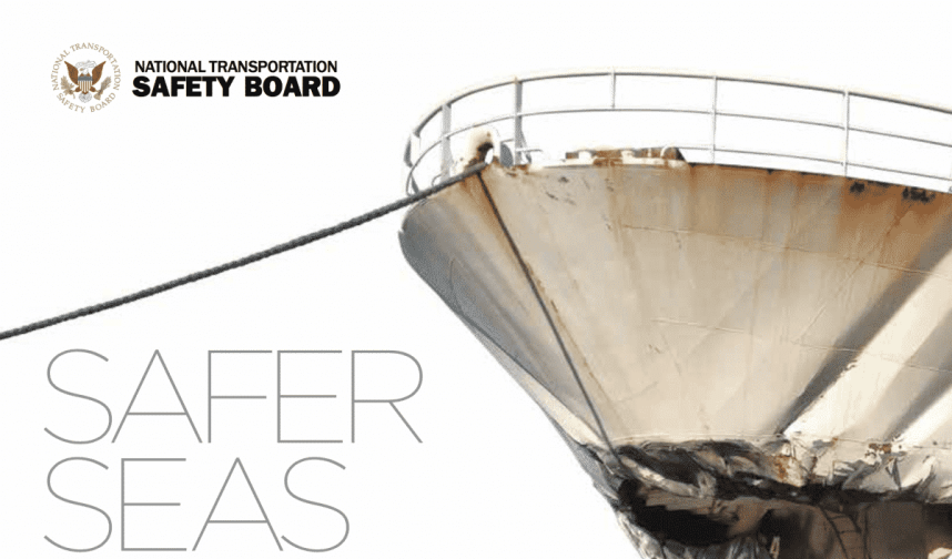 NTSB Safer Sea's Report 2015