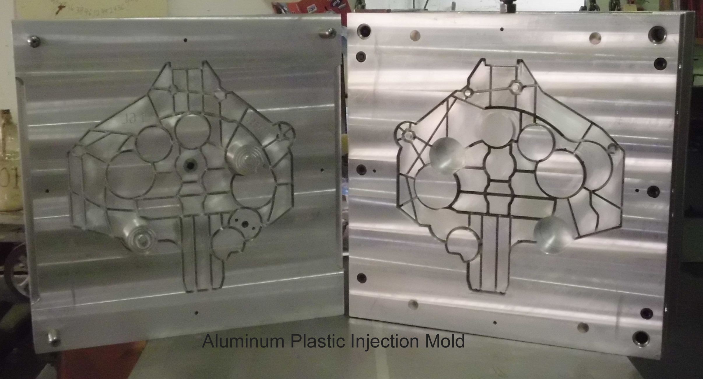 aluminum plastic injection mold