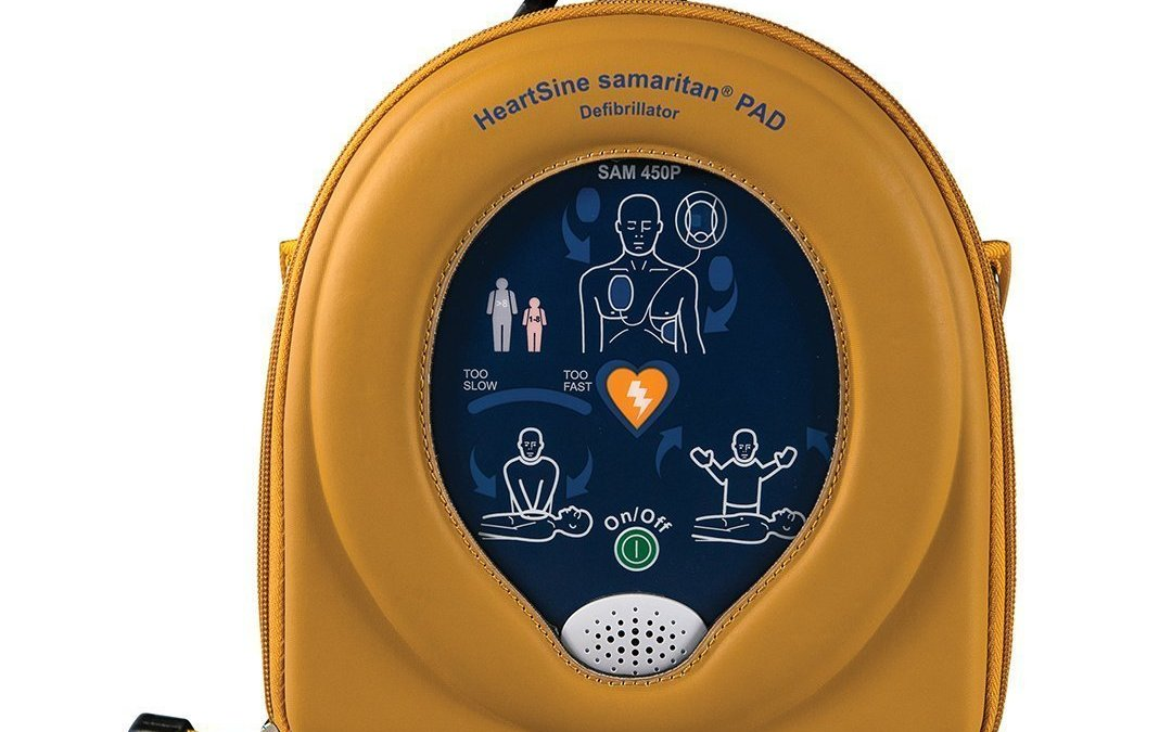 The HeartSine 450P with CPR Rate Advisor