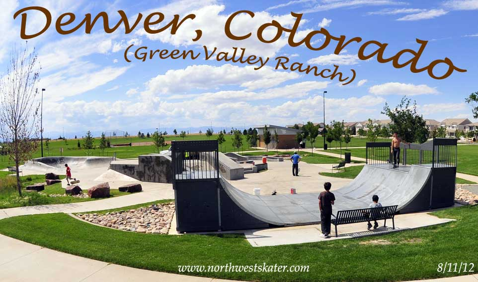 Denver Green Valley Ranch Colorado Skatepark