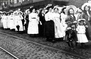 Whit Friday memories at the Weavers Factory