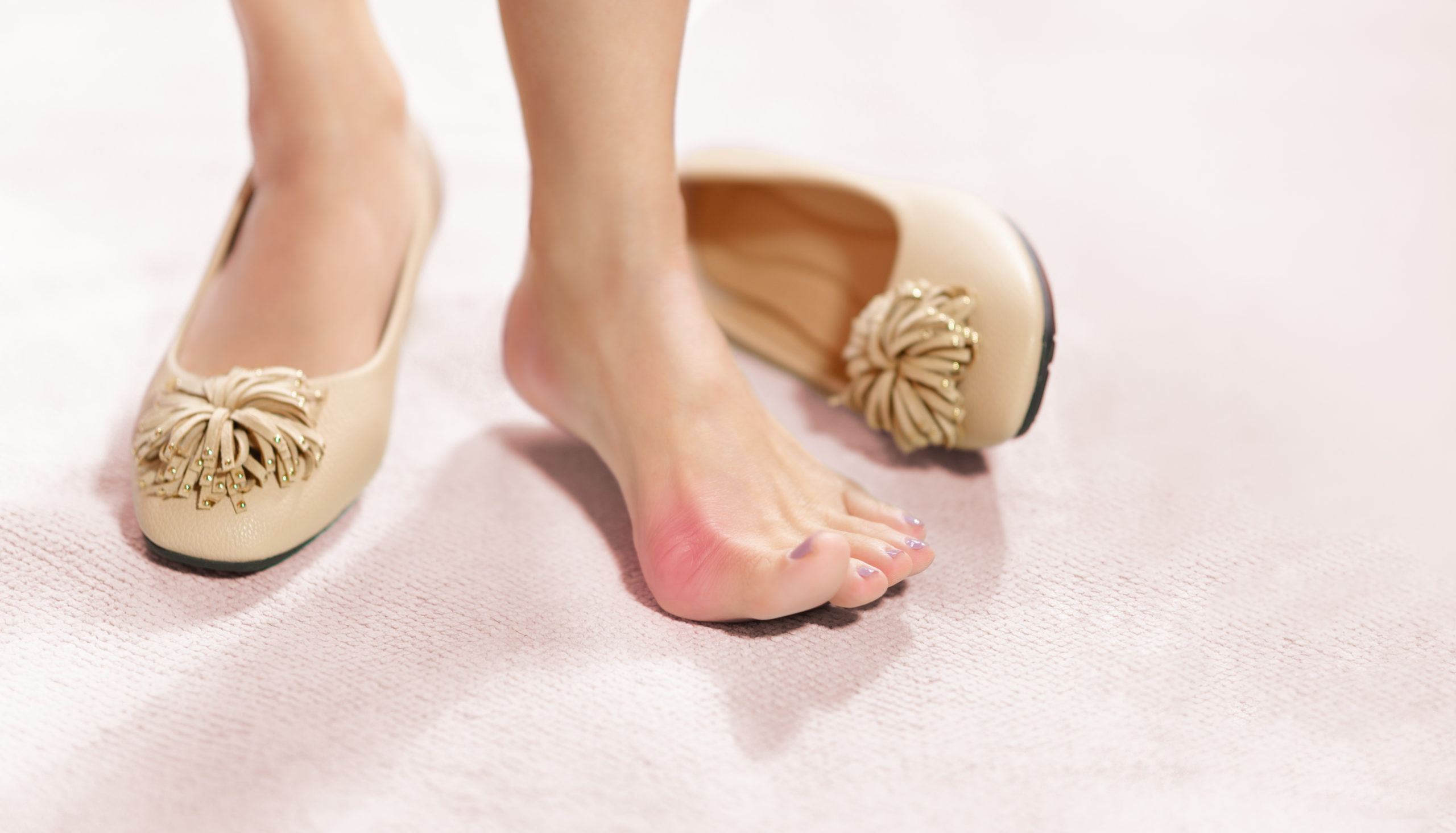 Pain from hammertoe