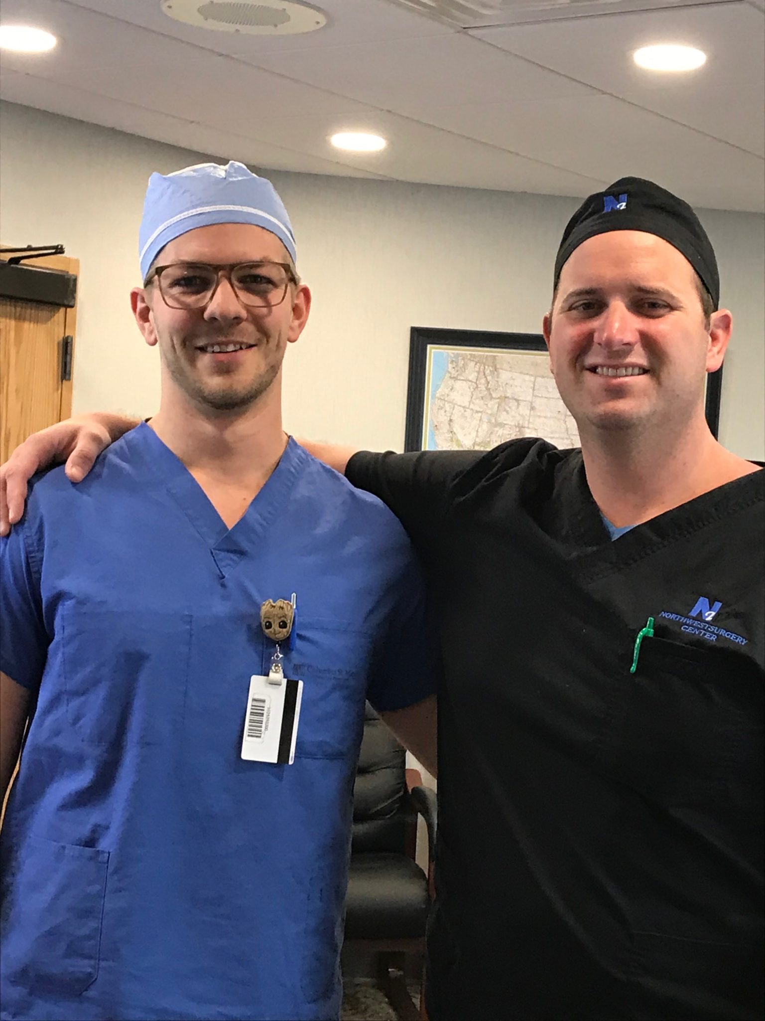 Dr. Jordan Sullivan and Dr. Brant McCartan