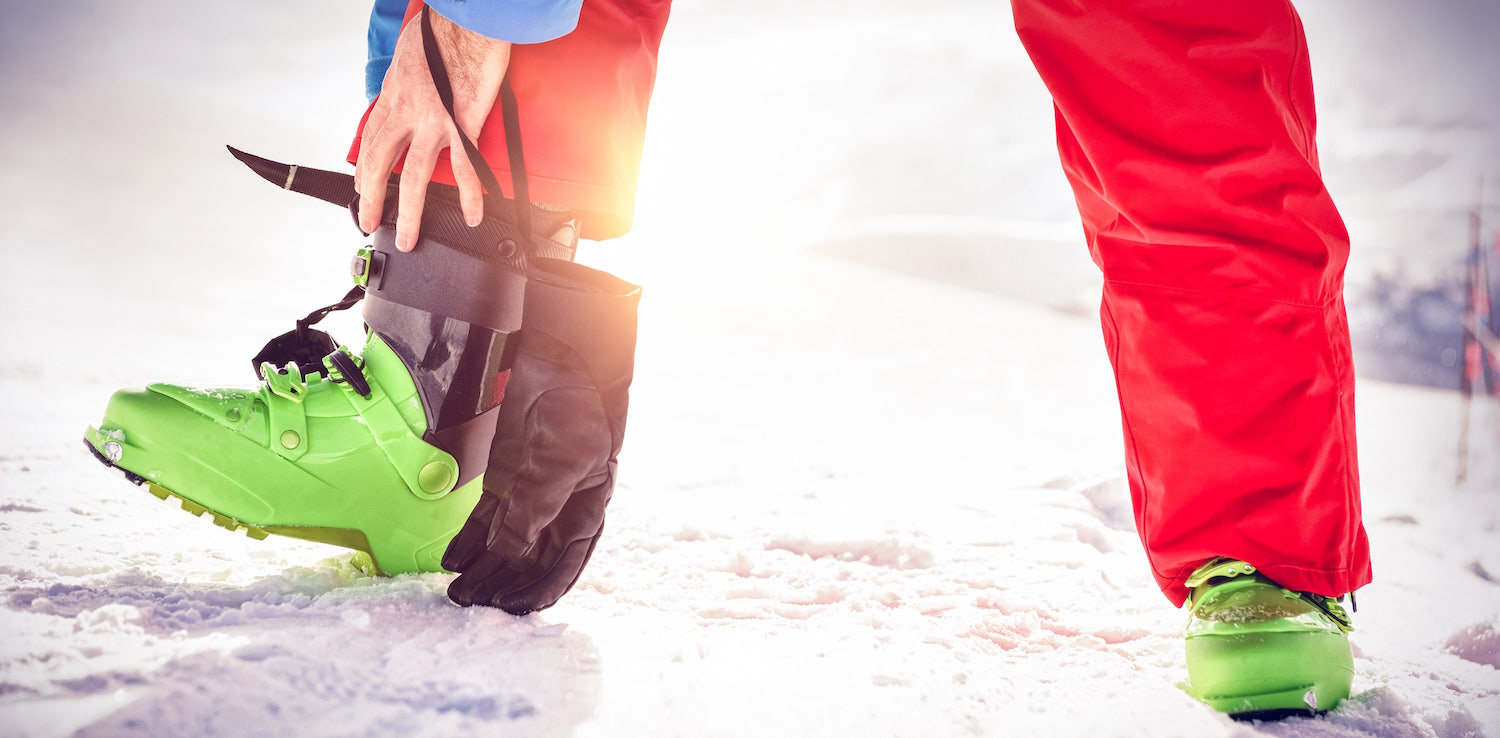 Pain From Ski Boots - Ski boots cause bunions
