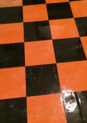 Linoleum Tiled Floor After Restoration in York