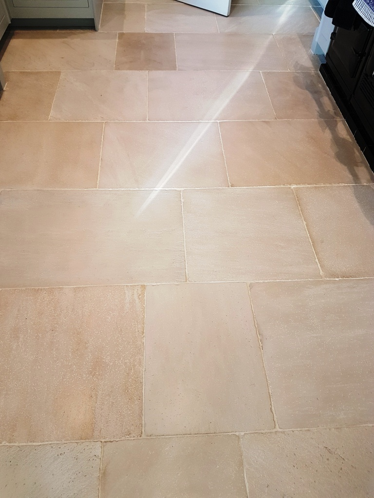 London White Limestone After Cleaning Leyburn
