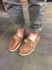 Sperry's and ankles