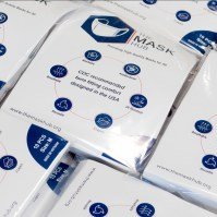 The packaging for the masks, which come in packs of ten. (Photo provided)
