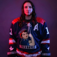 Cailey Hutchinson '15 of the New York Riveters (Photo provided)