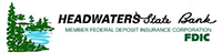 Headwaters State Bank logo click to website