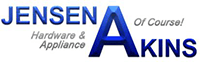 Jensen Akins Hardware and Appliance logo click to website