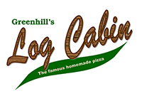 Greenhill's Log Cabin logo click to Facebook page