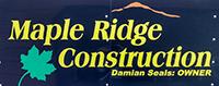 Maple Ridge Construction logo