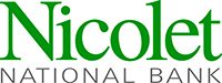 Nicolet National Bank logo click to website