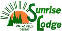 Sunrise Lodge logo click to website