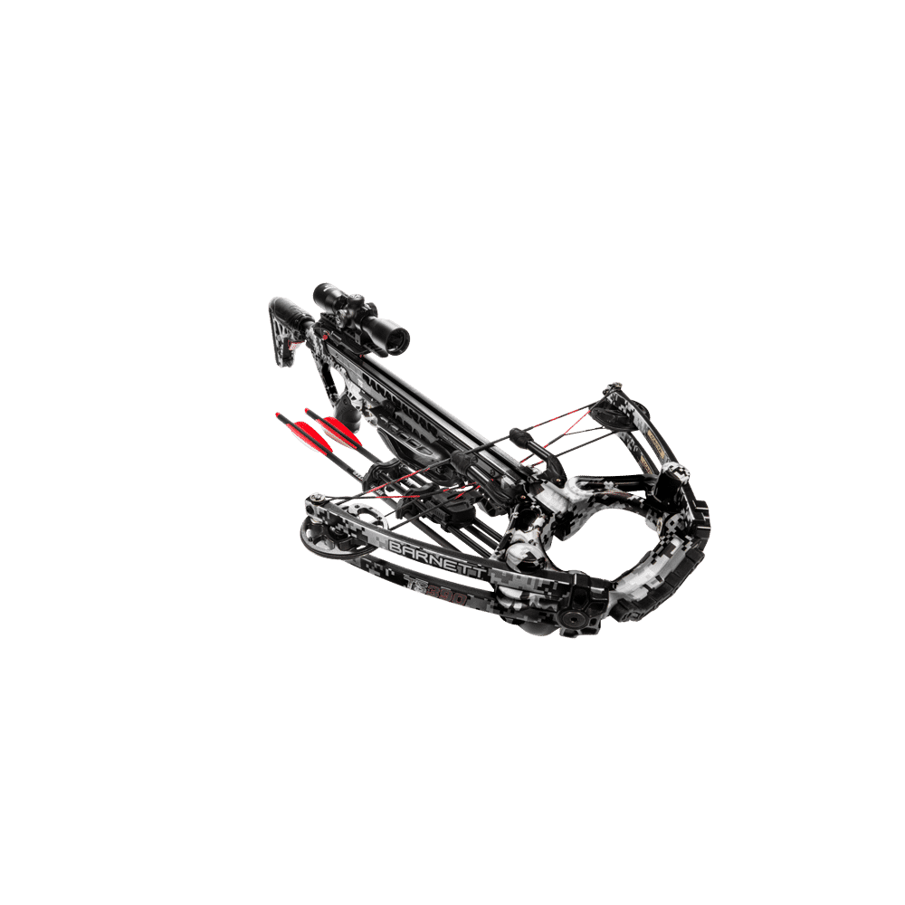 BARNETT TS 390 CROSSBOW WITH FREE PLANO HARD CASE AND FREE