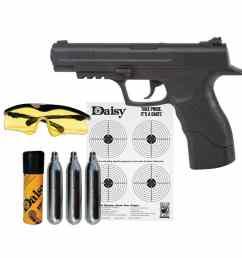 daisy powerline 415 co2 semi automatic bb gun kit [ 1140 x 1140 Pixel ]