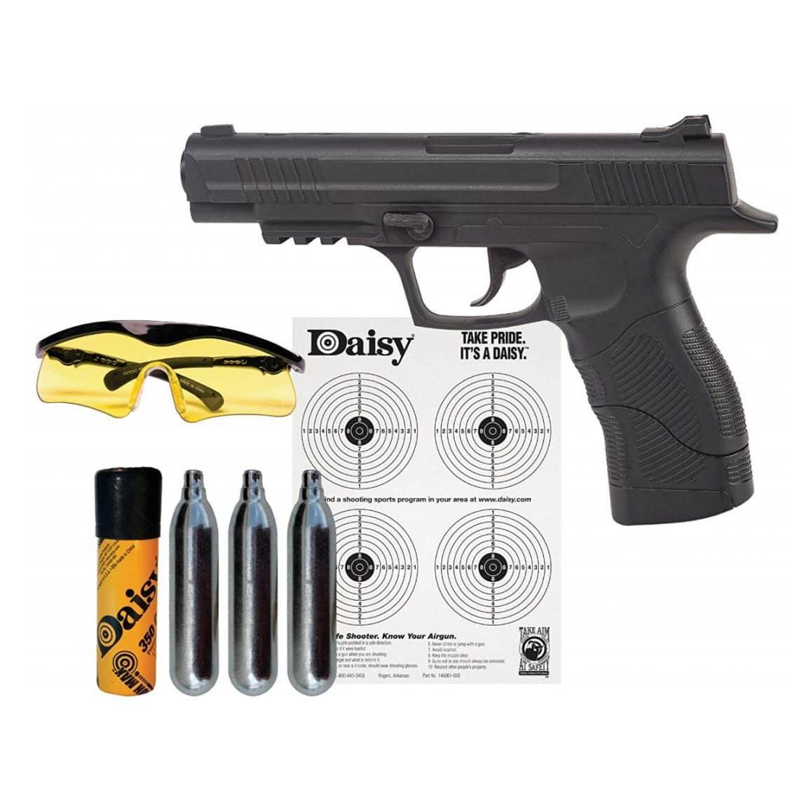 hight resolution of daisy powerline 415 co2 semi automatic bb gun kit