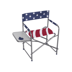 American Flag Chair Acapulco Leather Mahco Outdoors Director 39s Red White And Blue