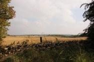 Farmed landscape after harvest - copyright NYMNPA