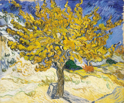 The Mulberry Tree by Vincent van Gogh - Norton Simon Art Foundation