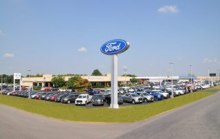 Stuart Powell Ford Lincoln Mazda dealership photo danville kentucky 1 - Norton Center Salutes: Stuart Powell Ford Lincoln Mazda