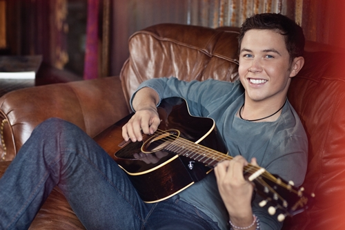 backstage scotty - Backstage at the Norton Center with... Scotty McCreery