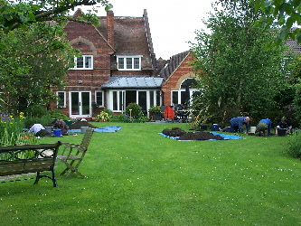 The garden of 111 Norton Road
