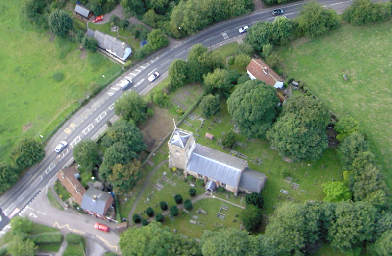 The allotments from the air in August 2008