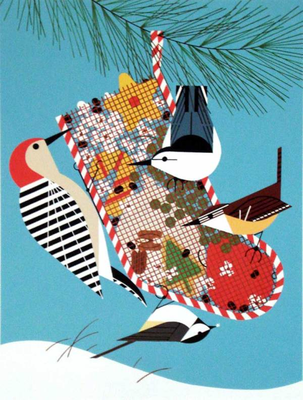Charley Harper - Backyard Birds