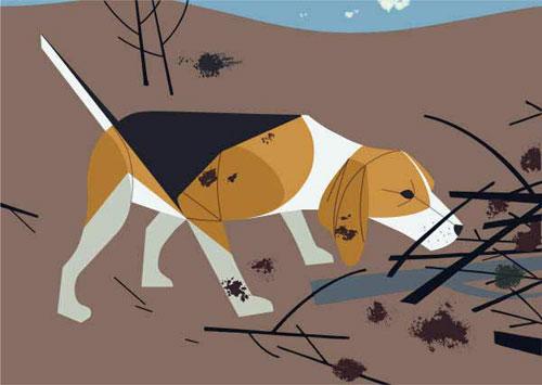 Charley Harper - Beagle