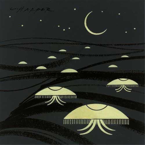 Charley Harper - MoonJellies