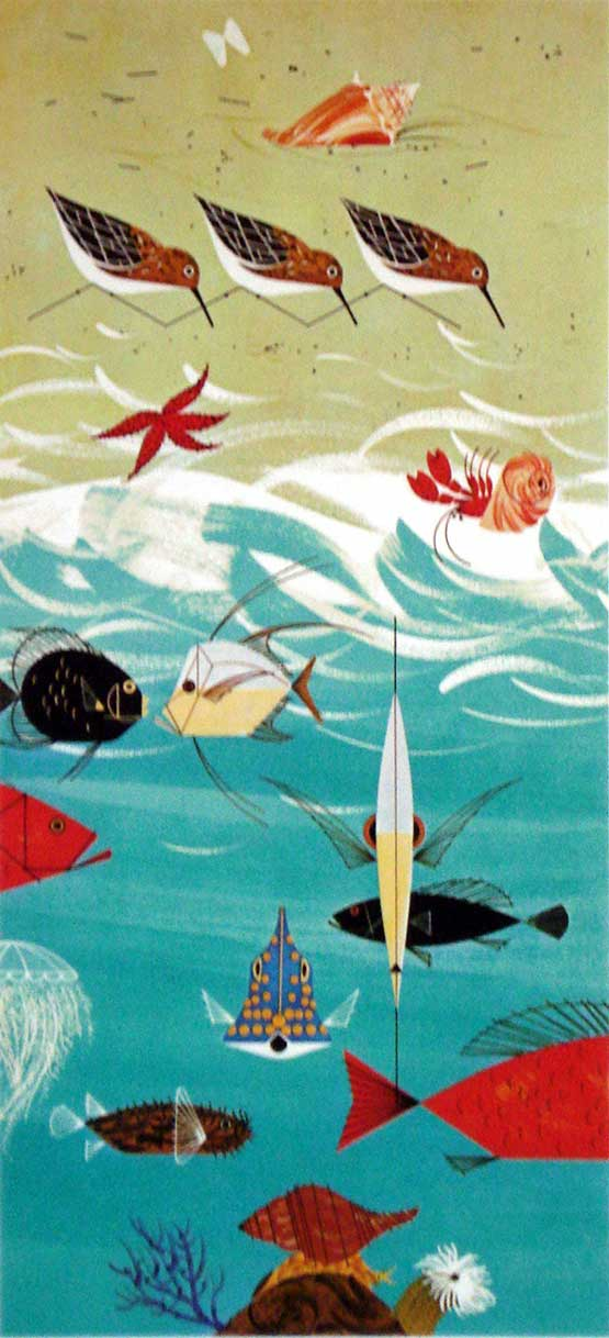 Charley Harper - Beach Birds