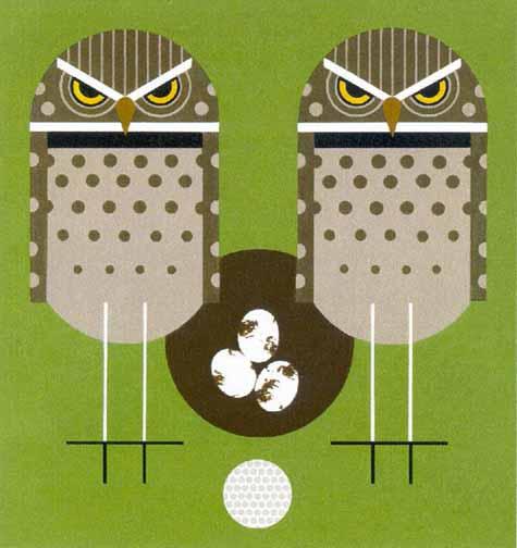 Charley Harper - Birdie