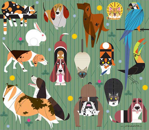 Charley Harper - Friends of our Families