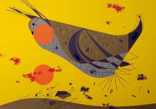Charley Harper - Heath Hen
