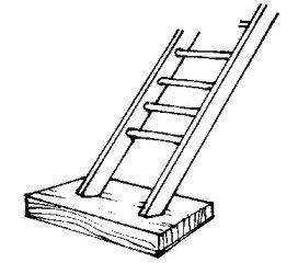 stairs cartoon driveway protect block